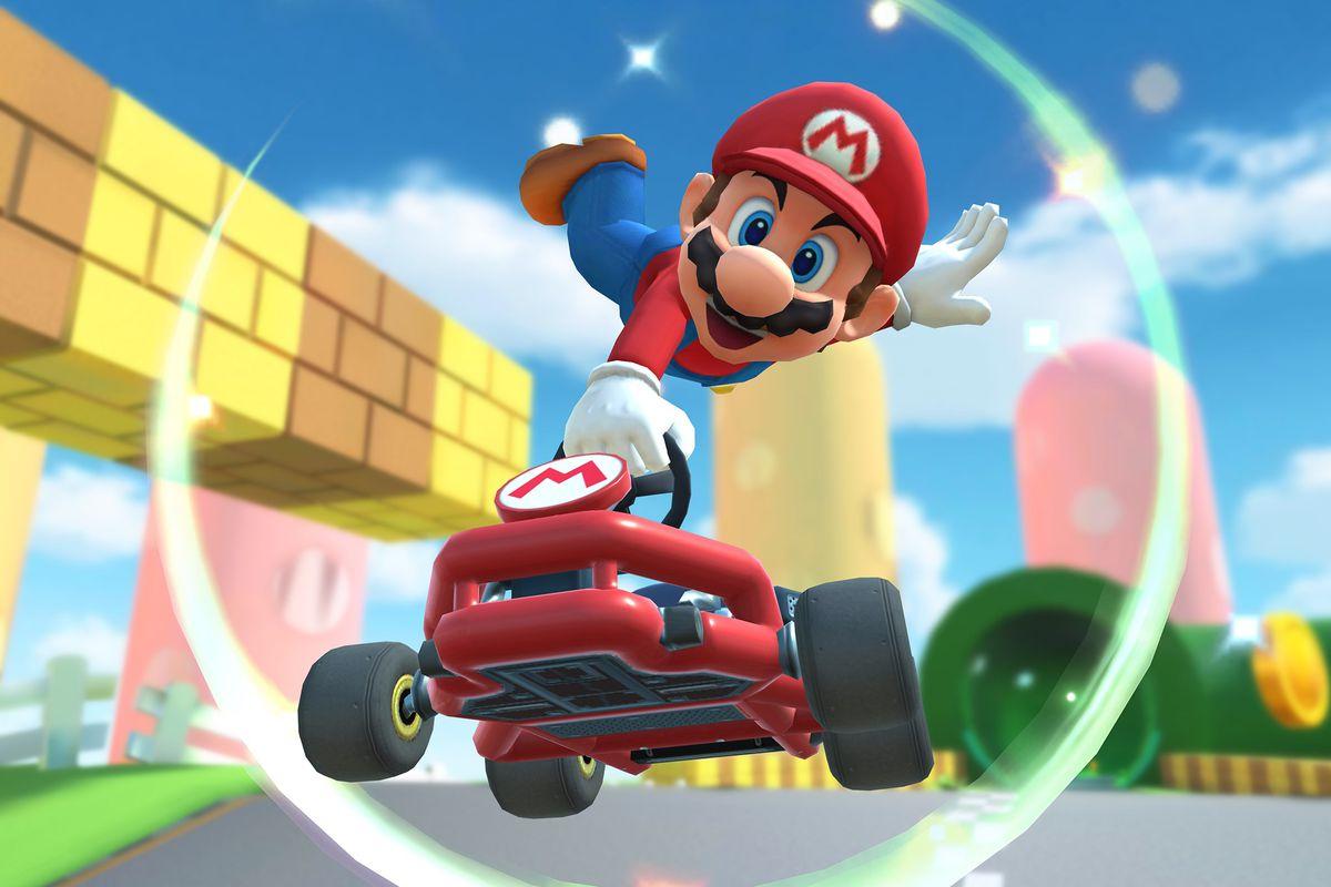 Mario Kart Tourrek errekorra hautsi zuen!