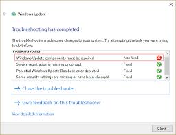 Konpondu: datu-basea eguneratzeko errorea Windows Eguneratu at Windows 10