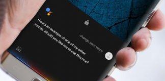 Nola aldatu ahotsa Google Assistant Android-en