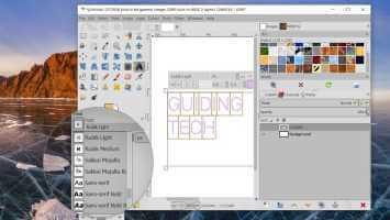 Onena 7 Agertzen ez diren GIMP letra tipo berriak konpontzeko moduak Windows 10