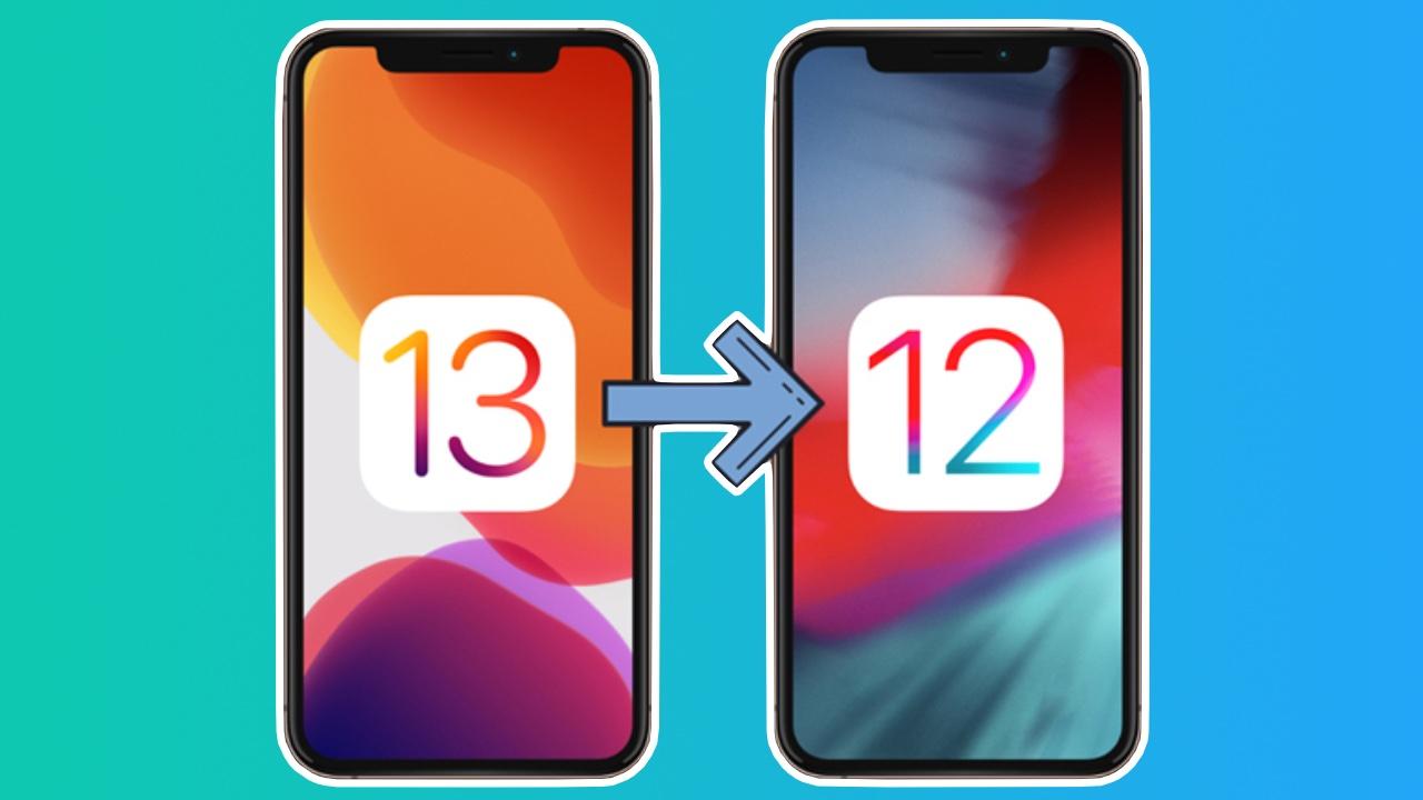 Nola itzuli iOS 13tik iOS 12ra?