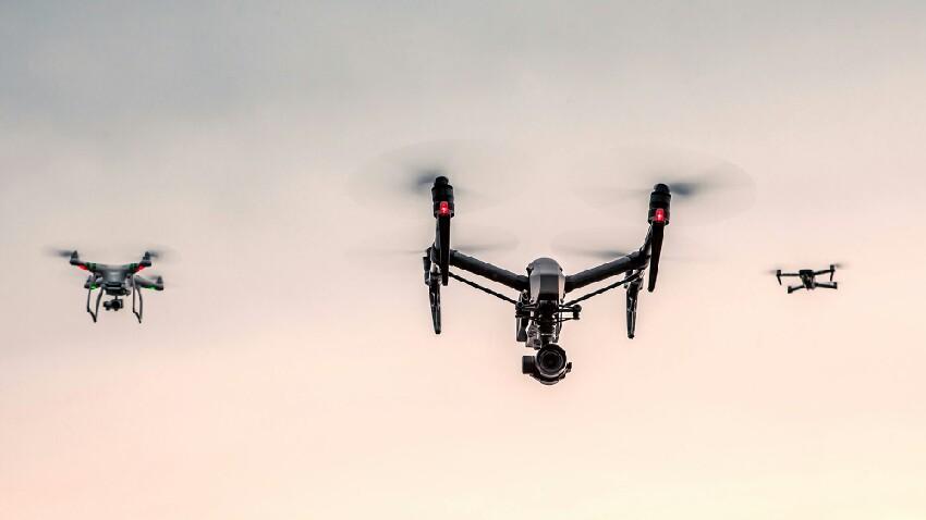 Dronak lehen aldiz erabili ziren osasun arloan