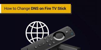 Nola aldatu DNS Fire TV Stick-en