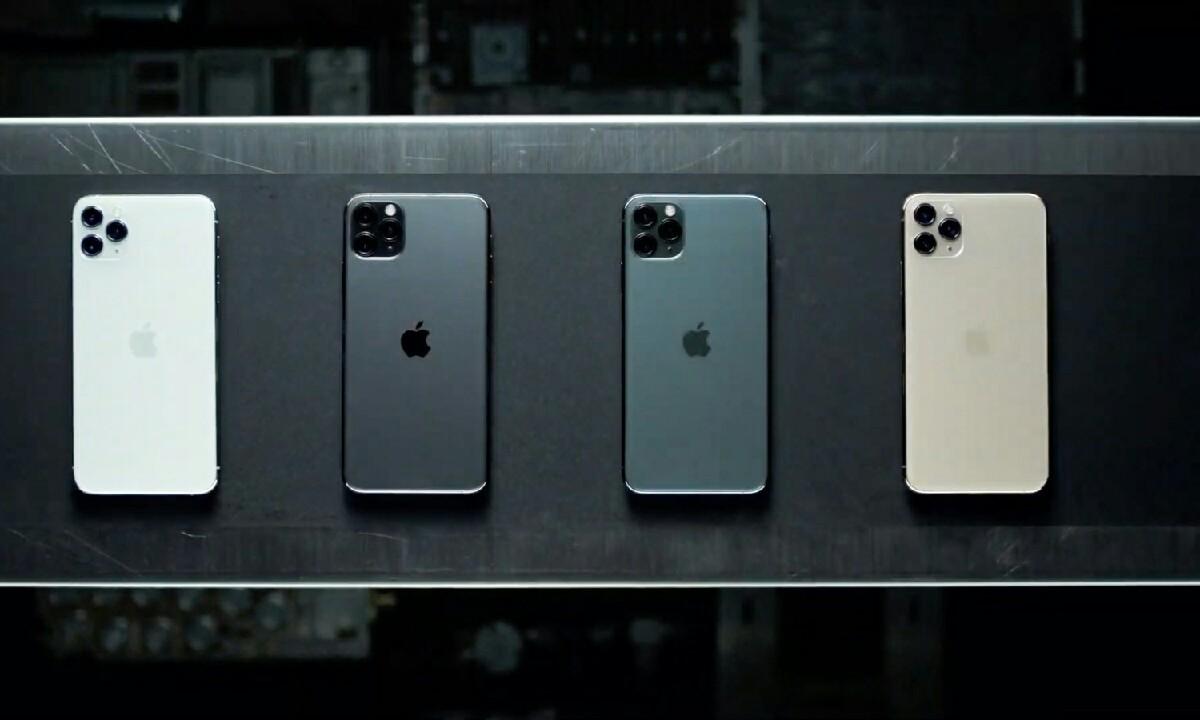 iPhone 11 bonba moduko kanpaina batekin dator!