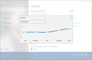 Nola erabili Equalizer Music Groove OS-en Windows 10