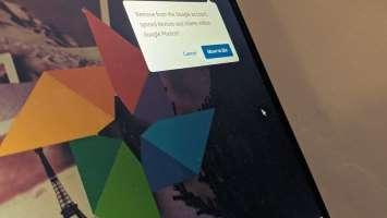 Zer gertatzen da argazkiak Google Photos-en argazkiak ezabatzean
