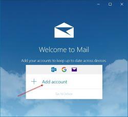 Nola gehitu Gmail-era Windows 10 Posta