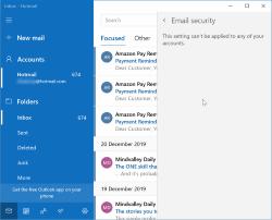 Zergatik ez du posta elektronikoa segurua funtzionatzen Windows 10-en?