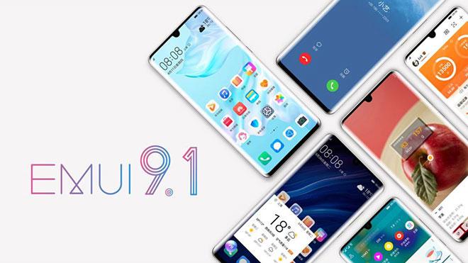 EMUI 9.1 güncellemesi
