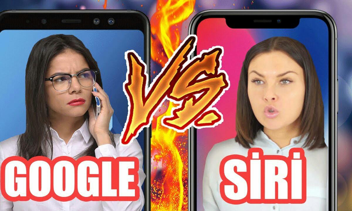 Google laguntzaileak Siri hankaz gora jarri zuen