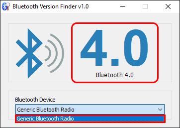 Nola egiaztatu sistemaren bidez ordenagailuaren Bluetooth bertsioa Windows 10