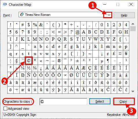 Nola txertatu karaktere bereziak Windows 10