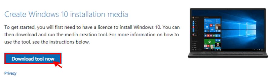 Eguneratze errorea Windows 10 x80240439 kodea agertzen da