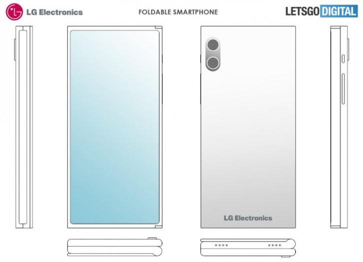 LG patenteak pantaila tolesturako telefonoetarako