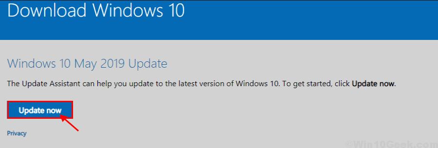 fix update - كيفية إصلاح خطأ في تحديث ويندوز 10 وظهور رسالة 0x8e5e0147