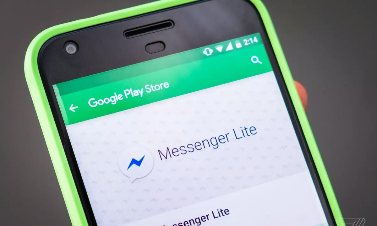 Facebook Messenger Lite aplikazioak 500 milioi deskargatu ditu