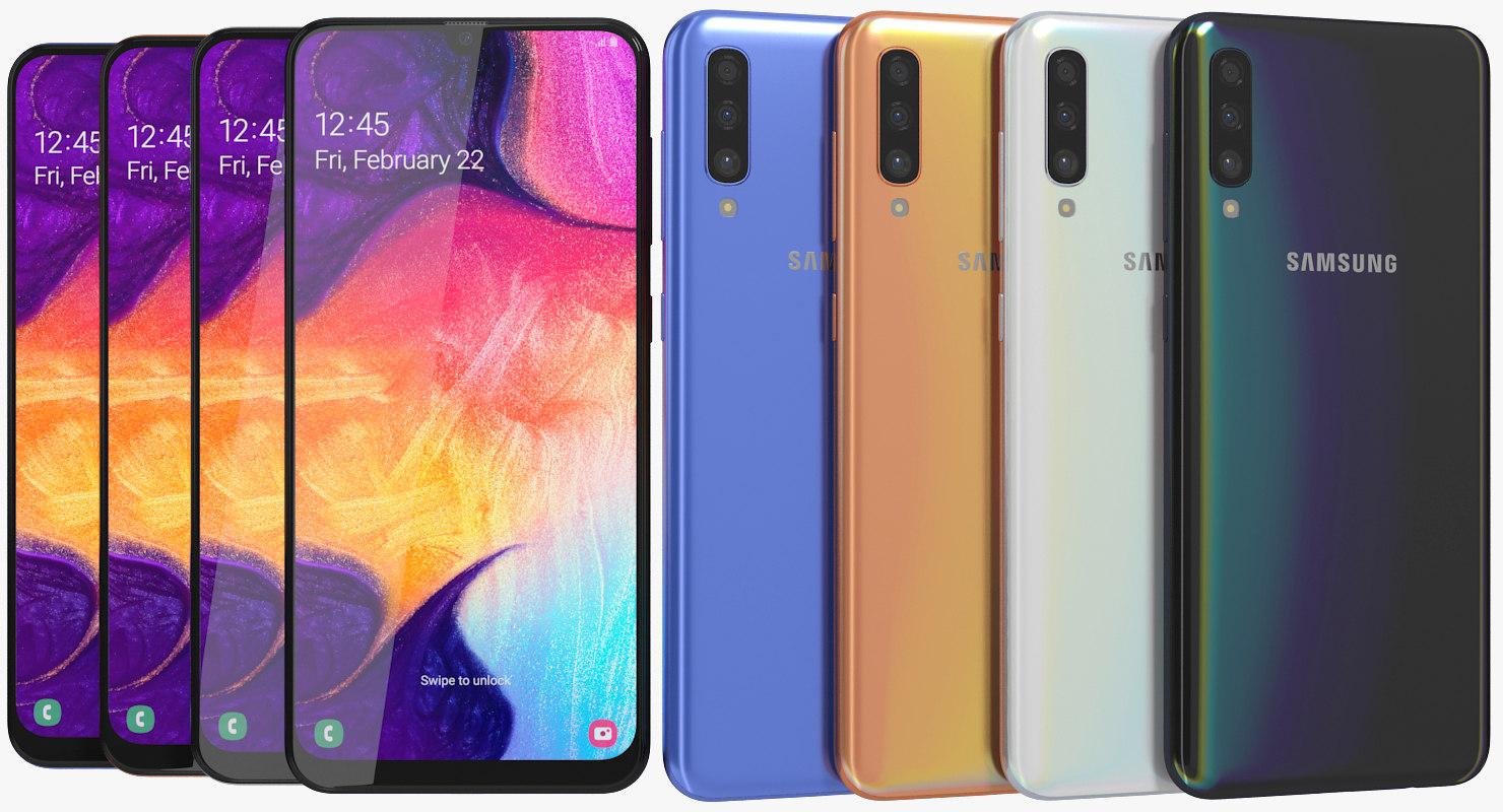 Samsung Galaxy A50ekoak agertu ziren!