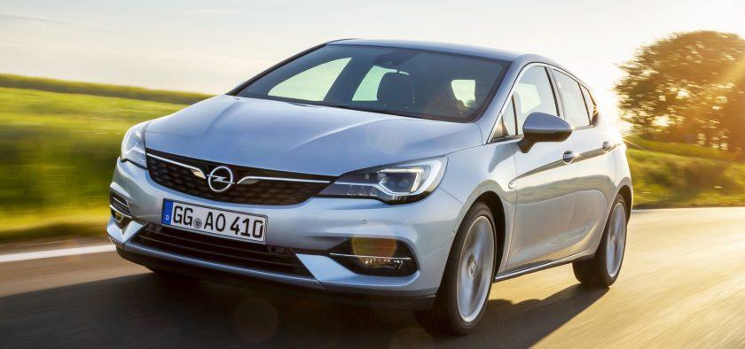 Opel Astrako motor-aukera berriak!
