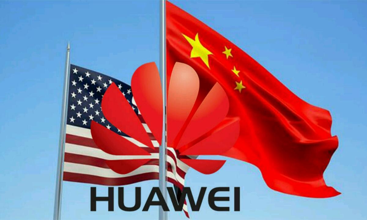 Huawei embargok uzten du: AEBetako botoia sakatzen du