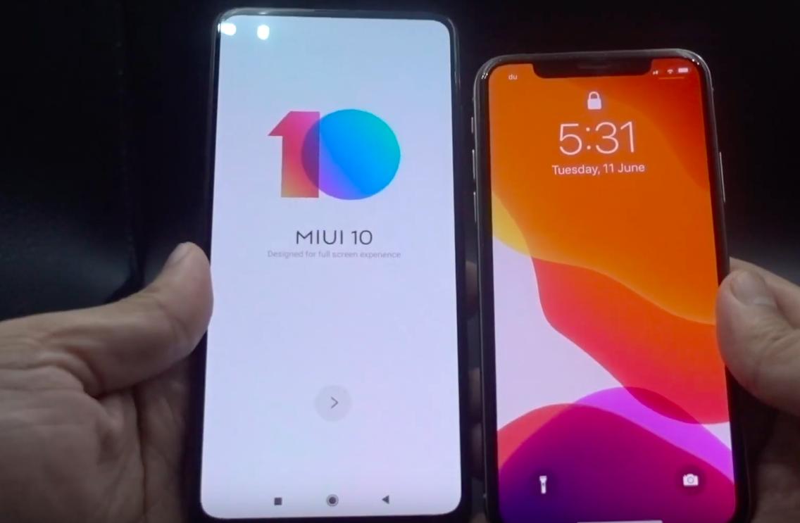 Xiaomi Mi 9T eta iPhone X kameraren konparazioa