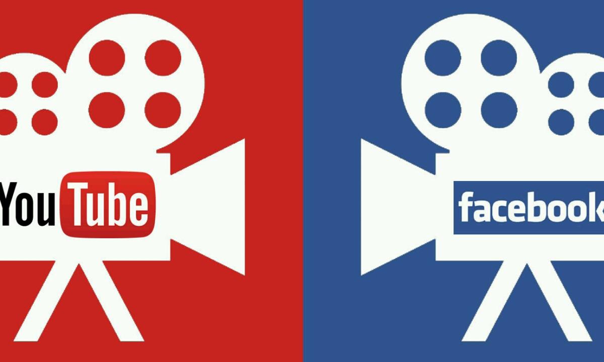 Facebook eta YouTube Bideoen transmisioaren lehiaketa