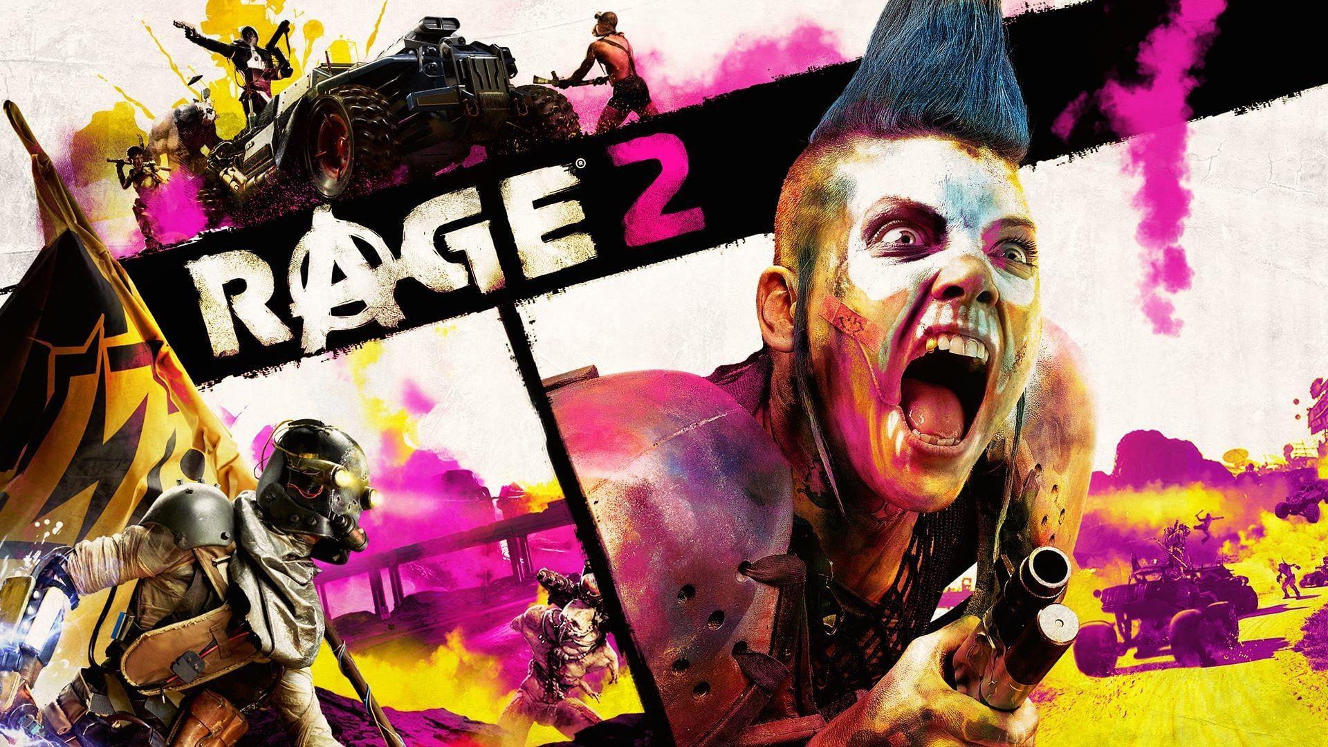 Rage 2 berrikuspena: Rage from Amazing Rage 2'jan