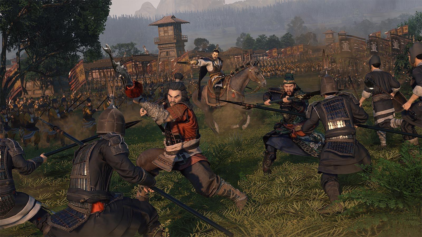 Total War Three Kingdoms berrikuspen puntuak kaleratu dira