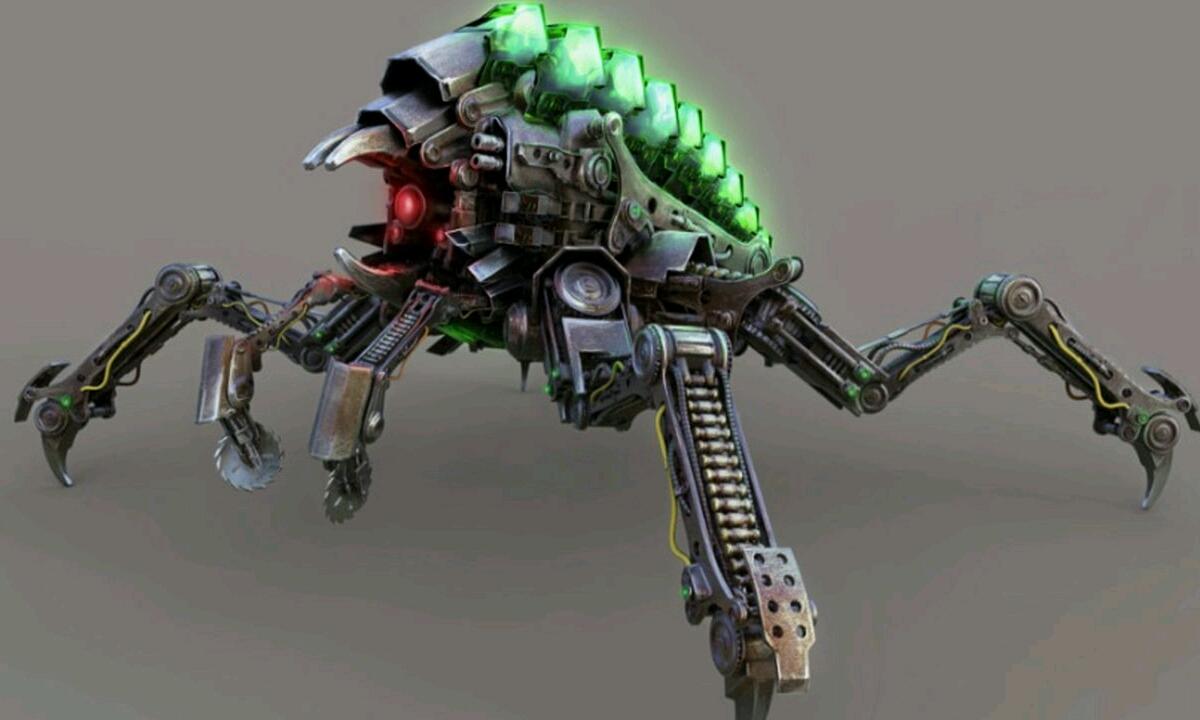 Animalia itxurako soldadu robotak batailetan erabiliko dira