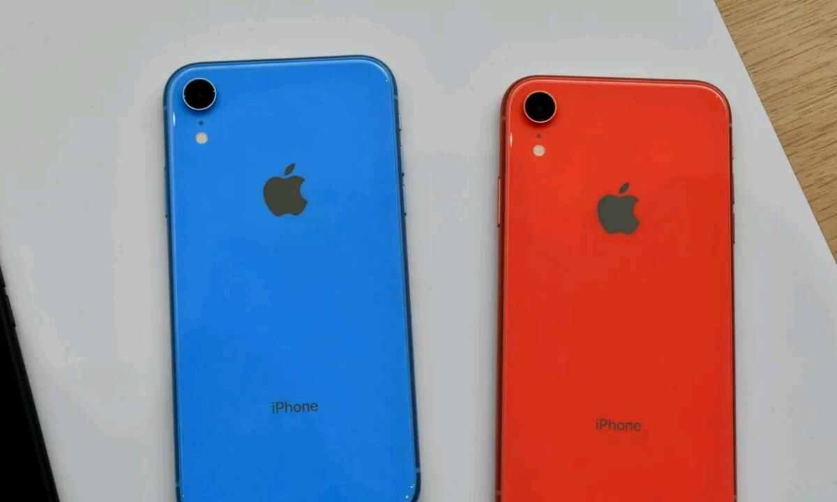 Erreklamatu bonba bat iPhone XR berriari buruz!