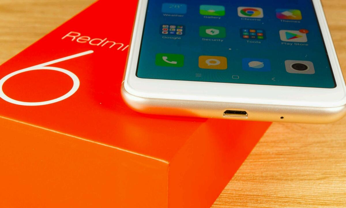 Xiaomi Redmi 6 eta Redmi 6a-k eguneratze berria jaso zuen