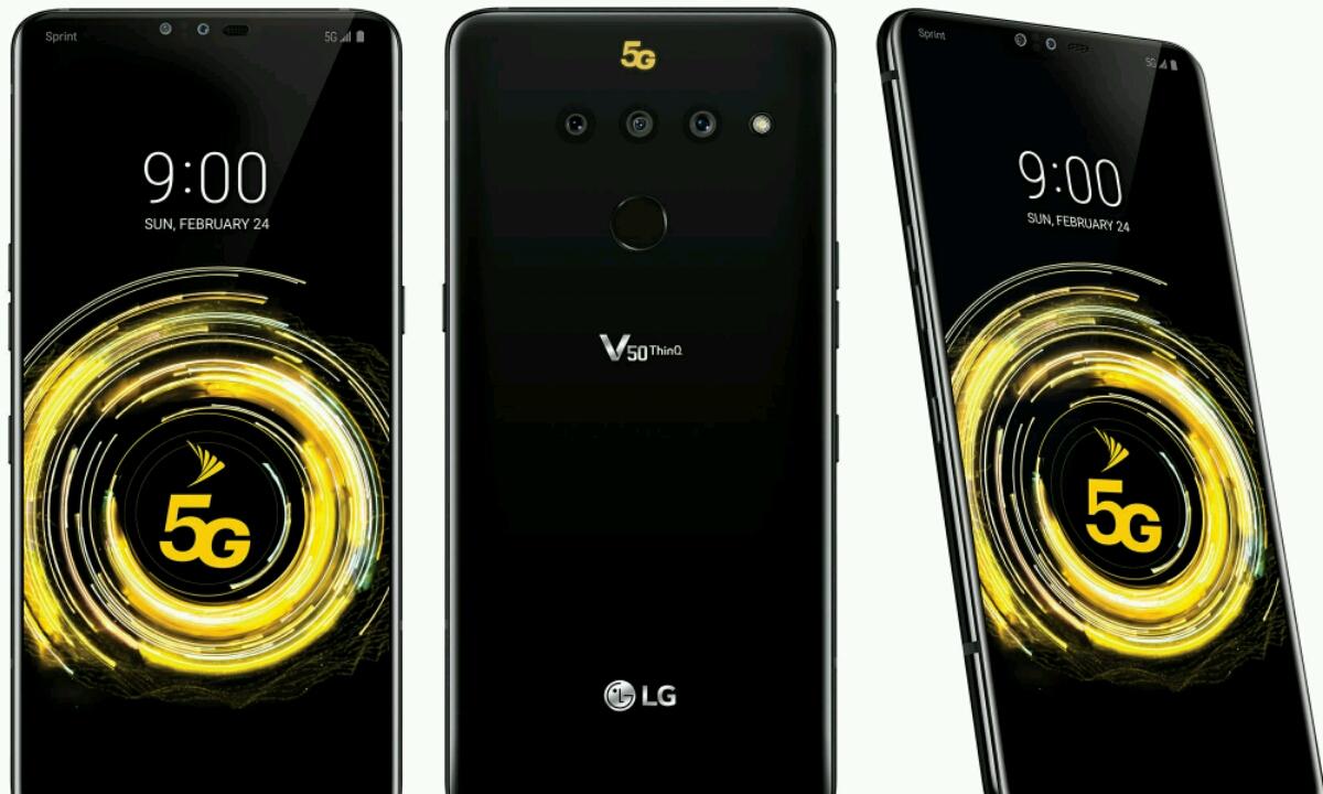 LG V50 ThinQ 5G espero baino beranduago kaleratuko da