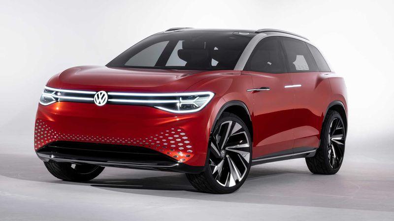 Volkswagenek Tesla X eredua du aurkari!  Hemen dago ID Roomzz kontzeptua!