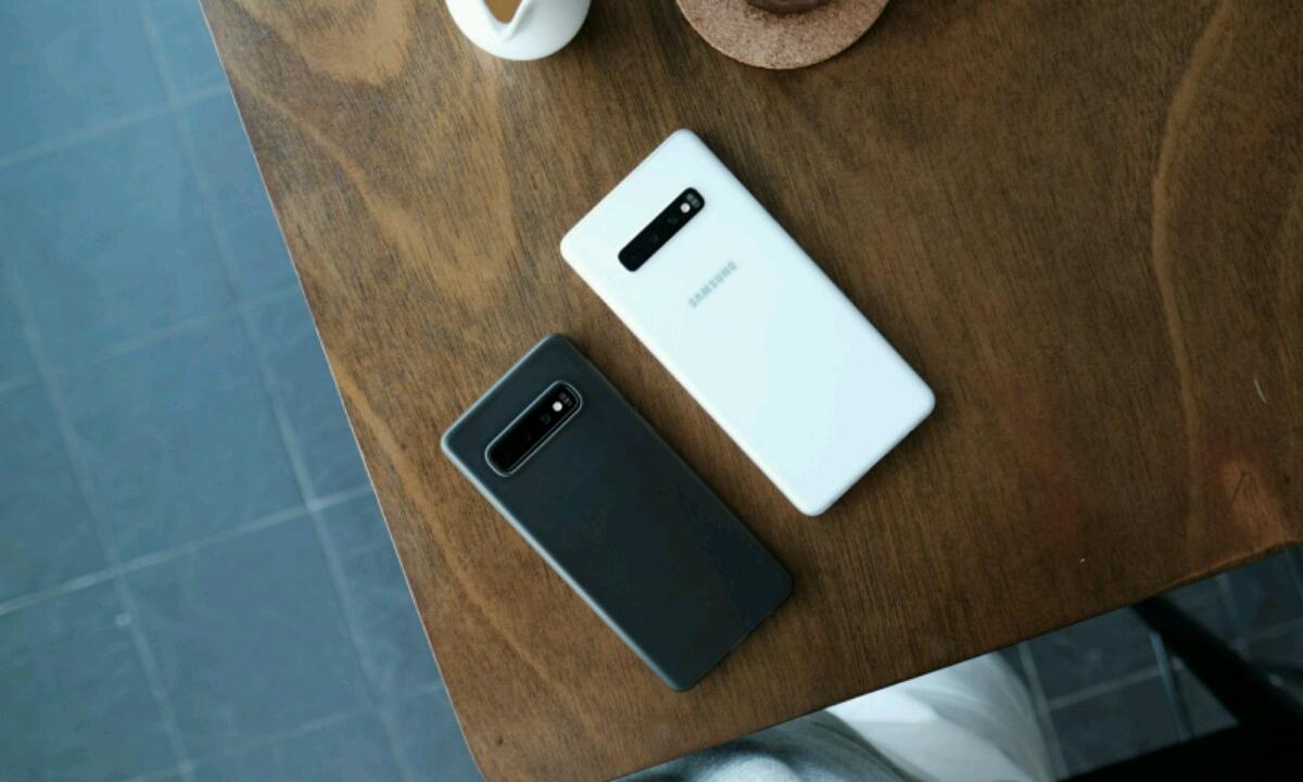 Samsung Galaxy Eguneratze berria S10 hatz markako arazoetarako atera da