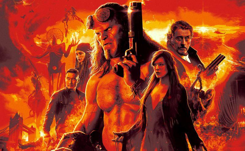 Hellboy 11 urteren ondoren itzuliko da