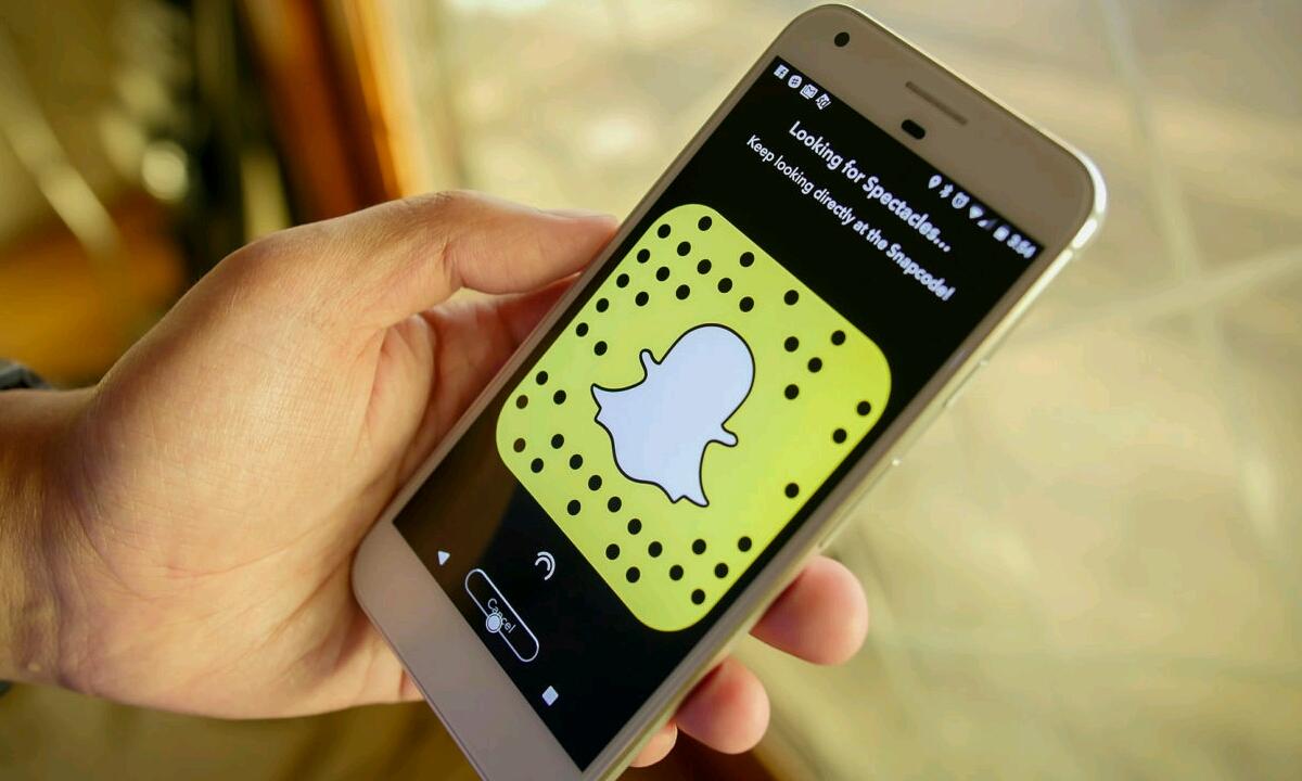 Snapchat Android bertsio berria eskuragarri dago!