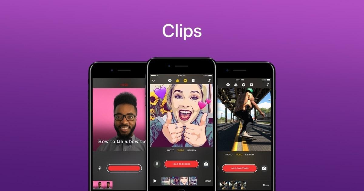 Apple Klipak funtzio berriekin eguneratu dira!