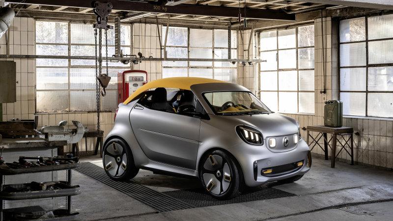 Eguneratu - Daimler AG mahai gainean dago Geely for Smart-ekin!
