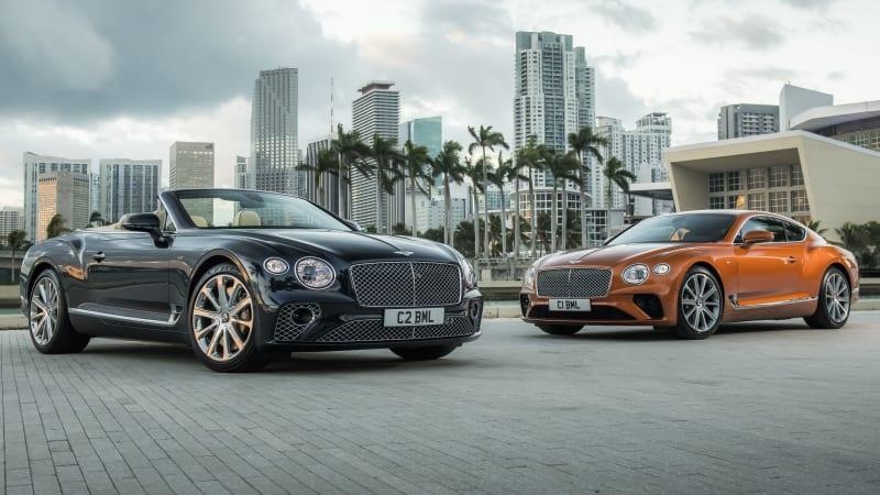 2020 Bentley Continental GT V8 motor berriarekin agertu zen!
