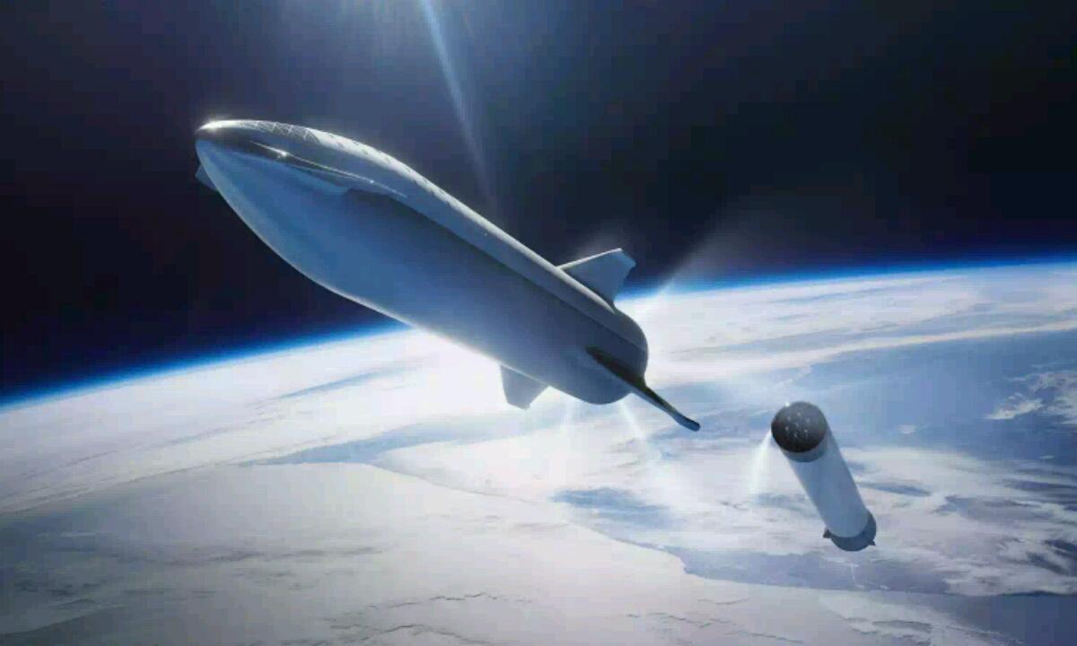 SpaceX Starship koheteak Marterantz urrats bat baino gehiago dira