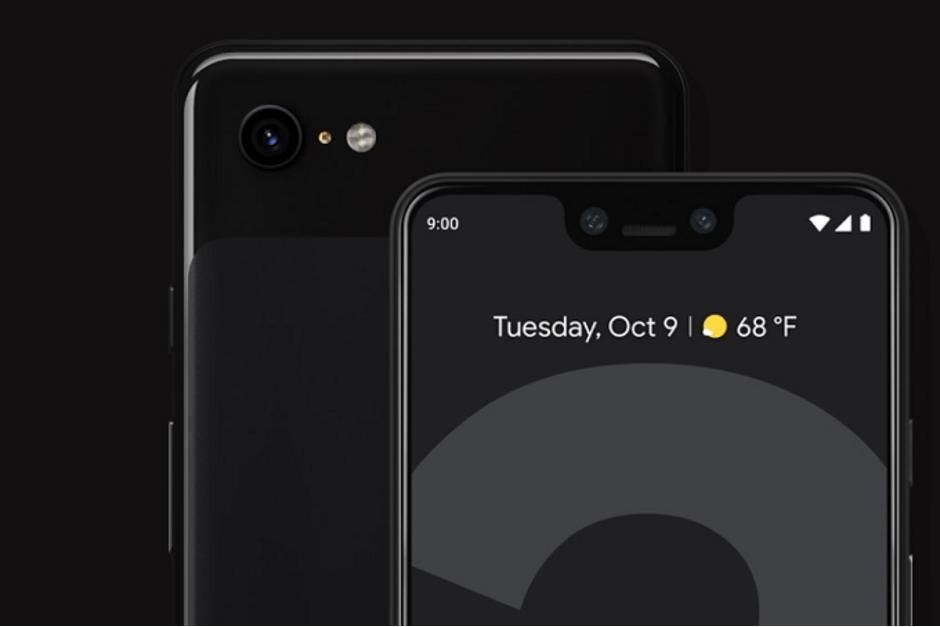 Google Pixel 4 XL diseinua filtratu zen