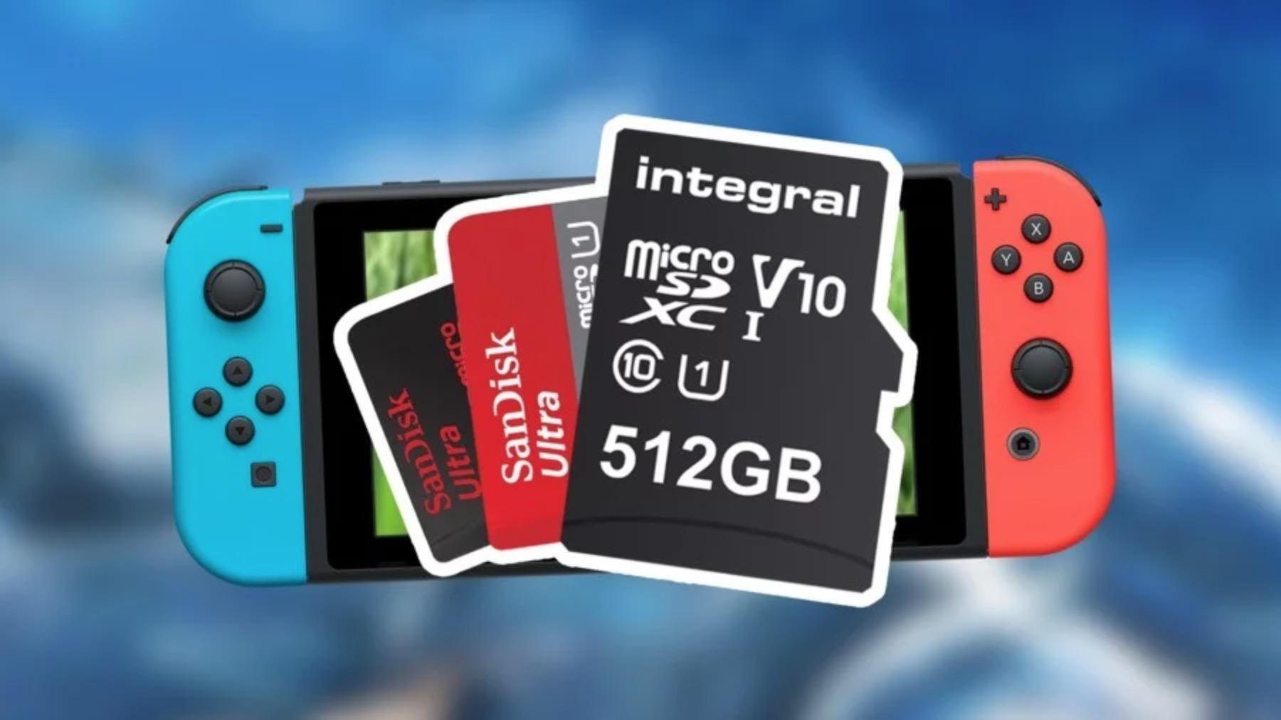 Nintendo Switch MicroSD txartela hautatzea oso garrantzitsua da!