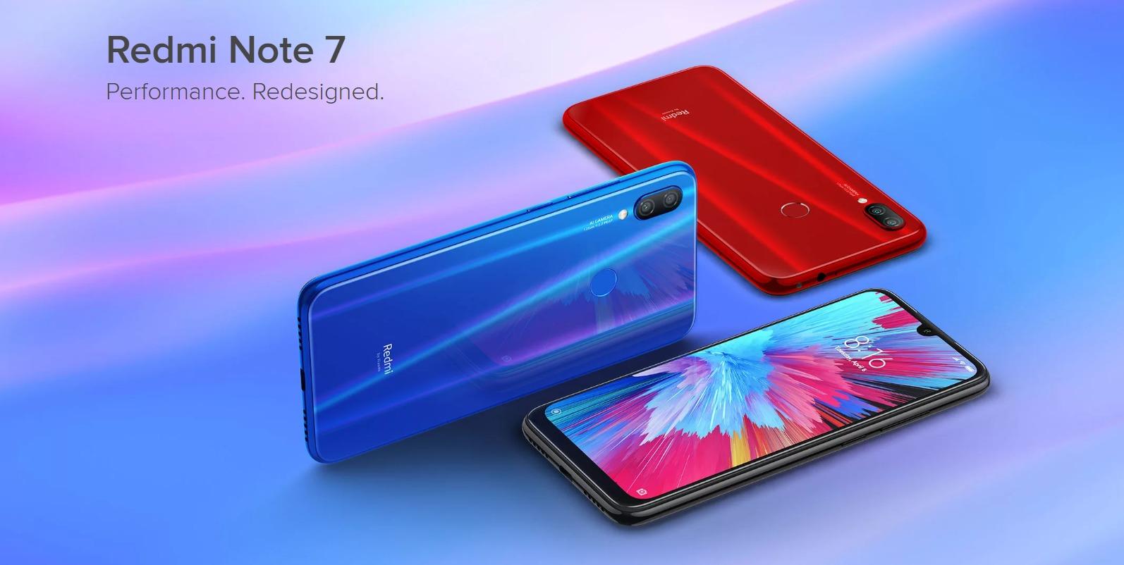 Xiaomi Redmi Oharra 7 Pro iragartzen du!  Hemen xehetasun guztiak!