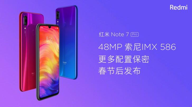 Xiaomi Redmi Oharra 7 Pro-ren funtzioak filtratu egin ziren