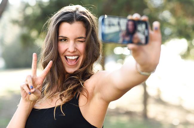 Selfie telefono onenak