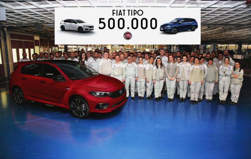 500.000garren Fiat Tipo-k ekoizpen linea utzi du Bursa-en!