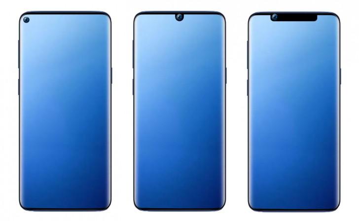 Xiaomi-k patente berriak jaso zituen pantaila zulatuaren diseinurako