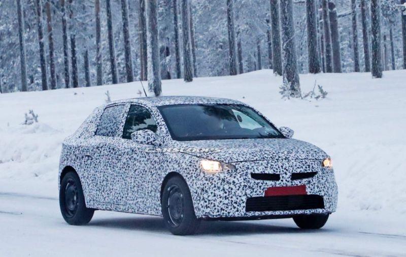 Opel Corsa belaunaldi berriak ezin izan du oraingoz espioi kamerei ihes egin!