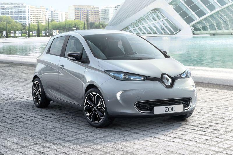 Renault Zoe S Edition-k errepideari helduko dio udaberrian!