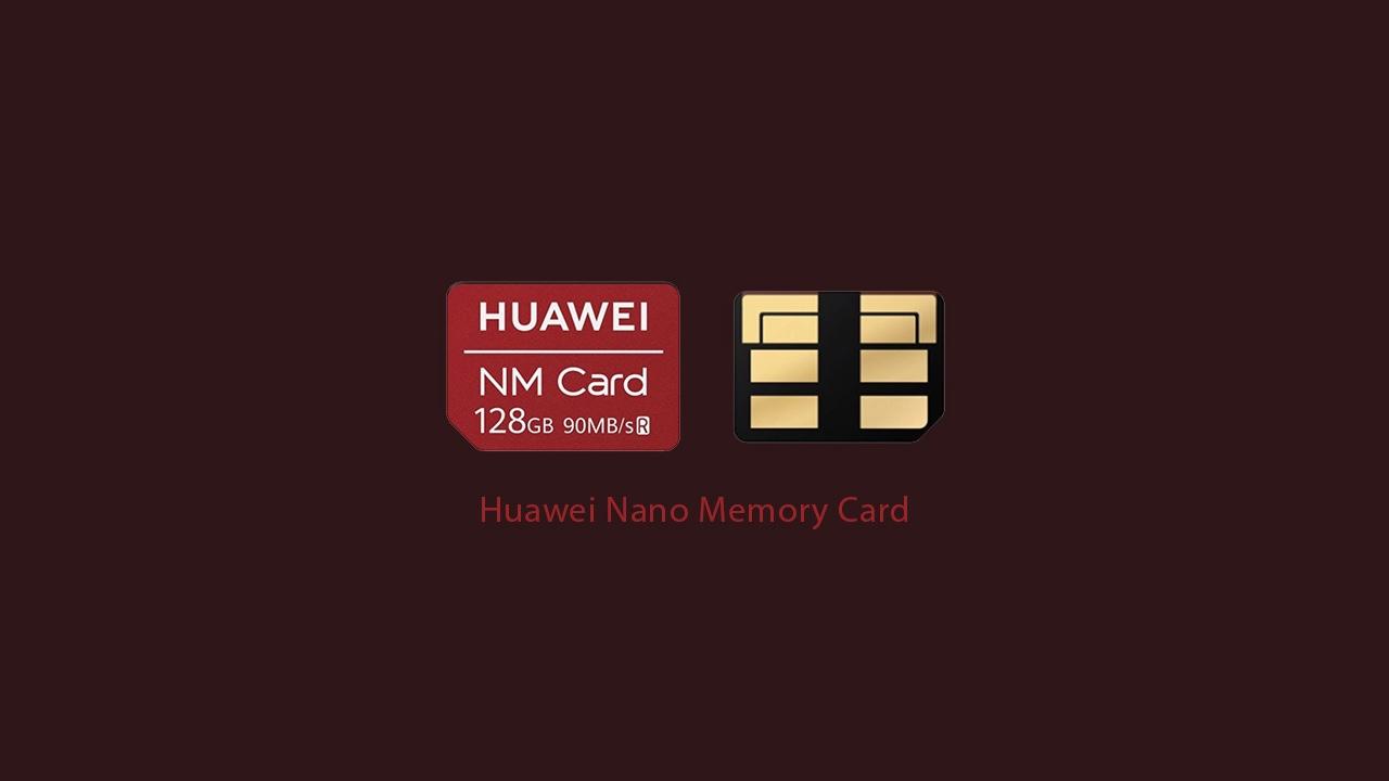 Zenbat azkar da Huawei NM txartela?