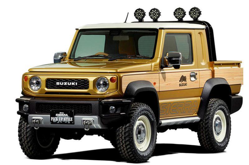 Suzukiren atzera jasotako kontzeptua: Hemen duzu Suzuki Jimny Sierra!